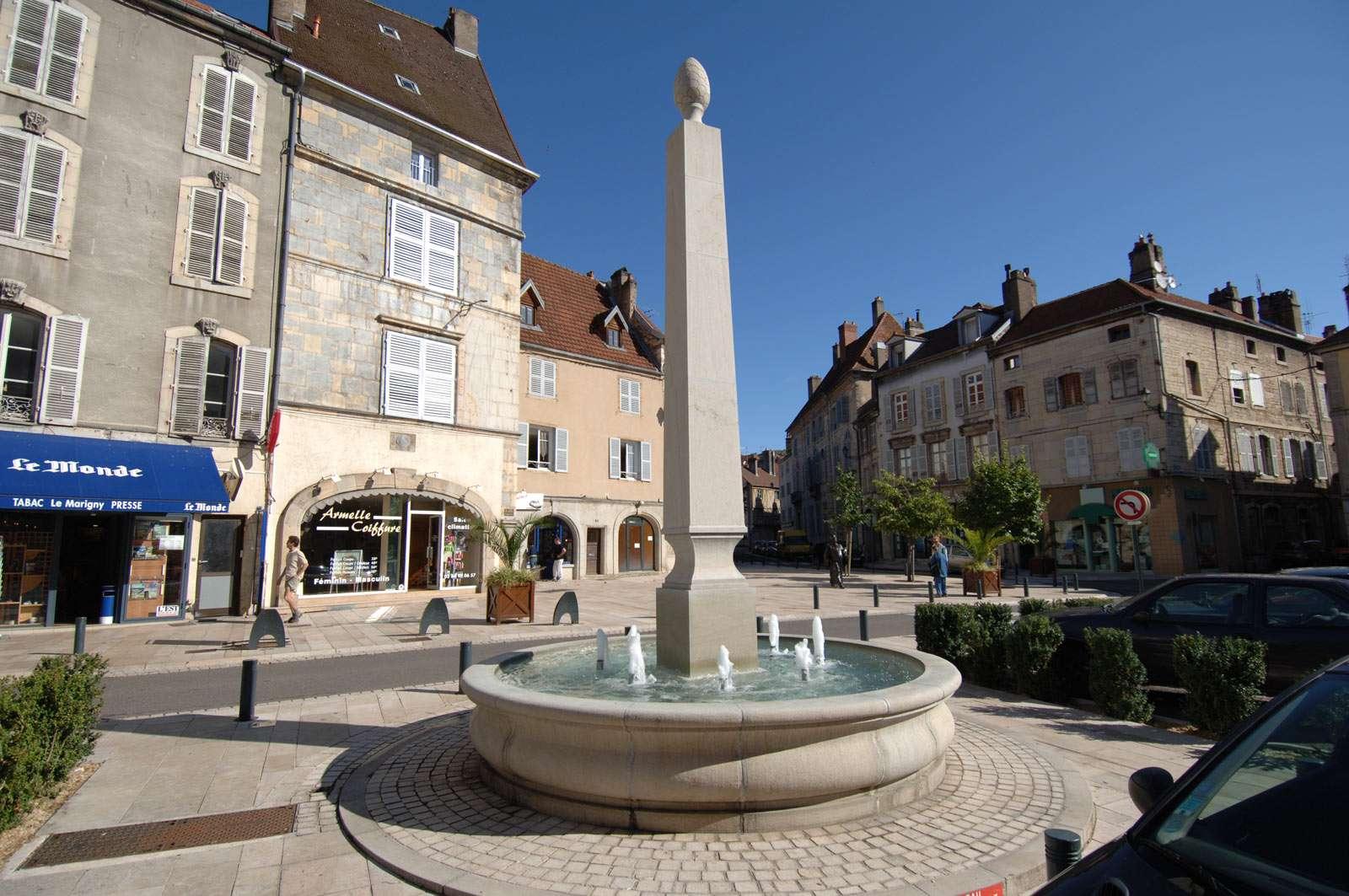 Vesoul Place Du Palais
