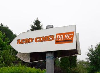 1 Panneau Accro Cymes Parc   Expérience CLaunay