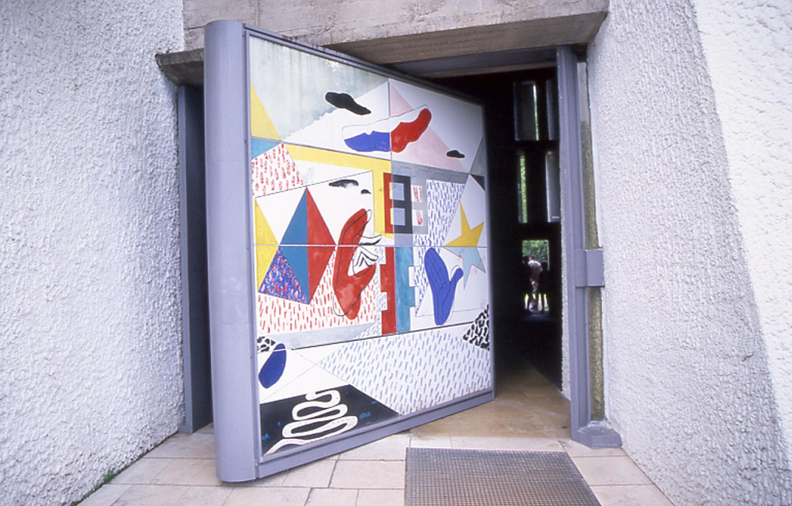 Chapelle-Ronchamp-Mosaique